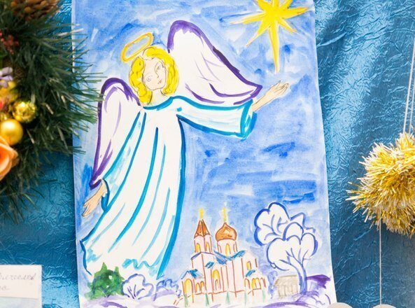 нашем свет рождественской звезды открытка на конкурс день каждый клубный